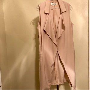 🌹LF Pink Nude Vest Waistcoat